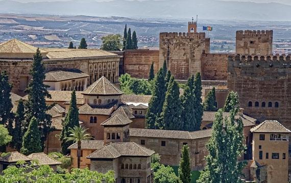 Postitse kuva Alhambra tarjoaa historian havinaa Sijainti - Alhambra tarjoaa historian havinaa!